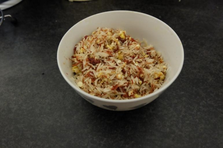 Cornbeef Fried Rice