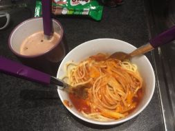 Excuse the mess - Spaghetti Bolognese